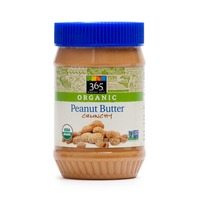 365 Organic Peanut Butter Crunchy, Sweetened