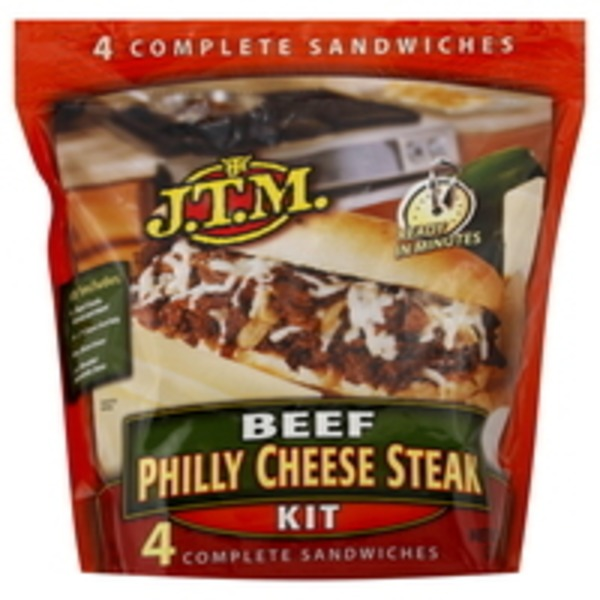 JTM Beef Philly Cheese Steak Kit