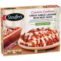 STOUFFER'S Family Size Cheesy Garlic Lasagna with Meat Sauce 35 oz Box