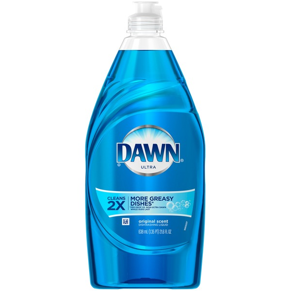 Dawn Ultra Dishwashing Liquid Original Scent 21.6 Oz Dish Care