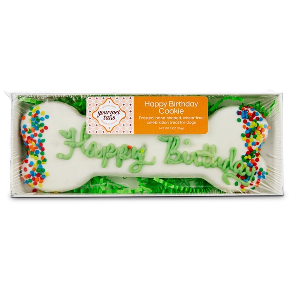 Gourmet Tails Happy Birthday Cookie Dog Treat
