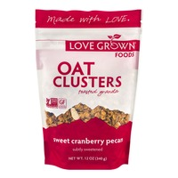 Love Grown Foods Oat Clusters Toasted Granola Sweet Cranberry Pecan