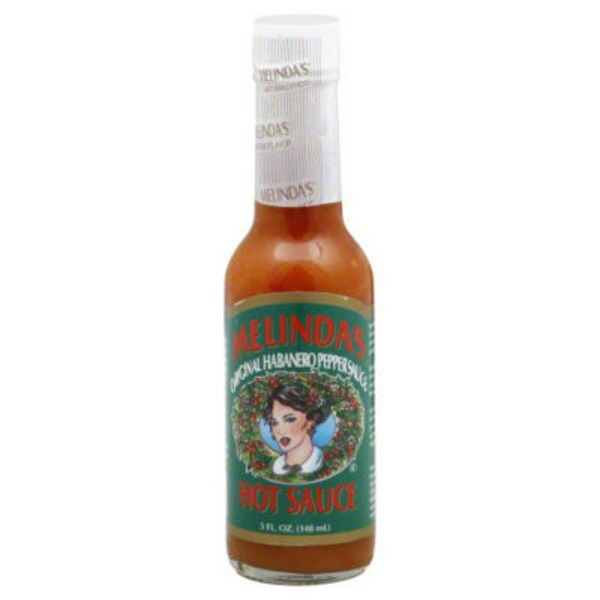 Melinda's Pepper Sauce, Original Habanero, Hot Sauce