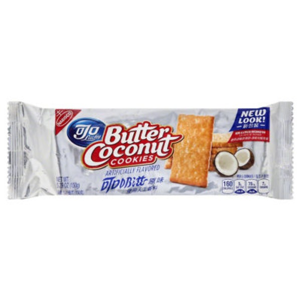 Nabisco Butter Coconut Cookies