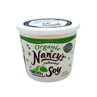 Nancy's Unsweetened Plain Soy Yogurt