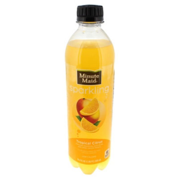 Minute Maid Sparkling Tropical Citrus Juice Drink