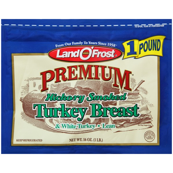Land O' Frost Premium Hickory Smoked Turkey Breast