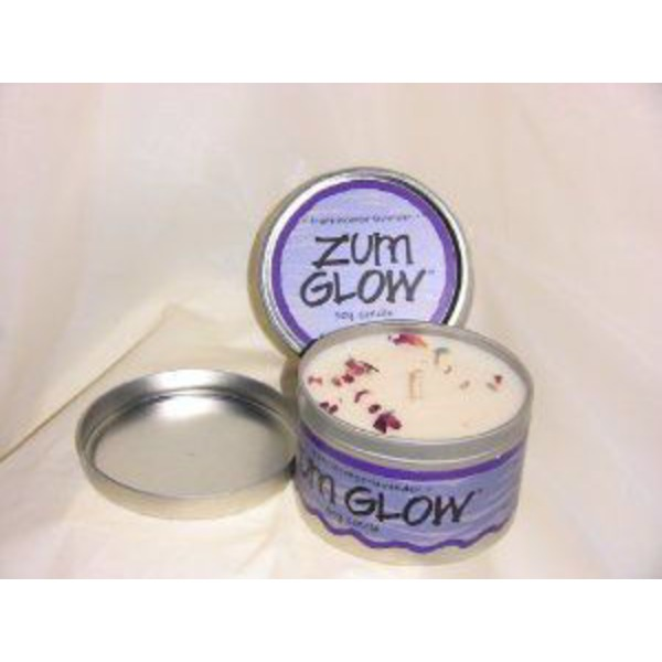 Zum Glow Frankincense Lavender Soy Candle