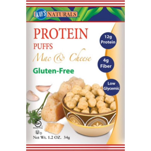 Kay's Naturals Protein Puffs Mac and Cheese