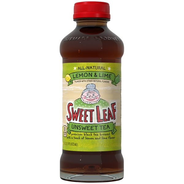 Sweet Leaf Tea Co Unsweet Lemon & Lime Iced Tea