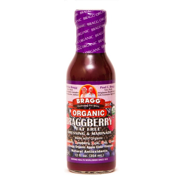 Bragg Organic Braggberry Fat Free Dressing & Marinade