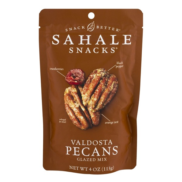 Sahale Snacks Nut Blend Valdosta Pecans with Sweet Cranberries, Black Pepper + Orange Zest