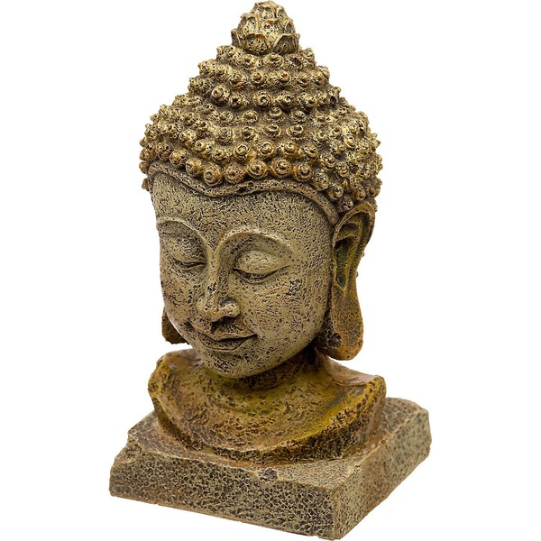 Blue Ribbon Pet Products Thai Buddha Head Aquarium Ornament