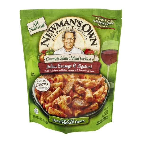 Newman's Own Complete Skillet Meal For Two Italian Sausage & Rigatoni