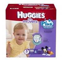 Huggies Little Movers Plus Size 3