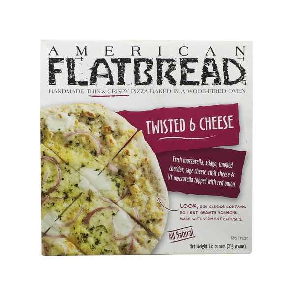 American Flatbread Twisted 6 Cheese Pizza