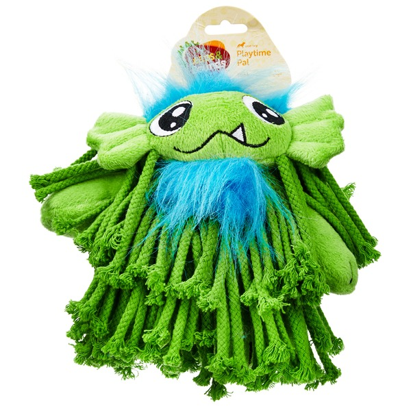 Leaps & Bounds Swamp Thing Plush Medium Dog Toy