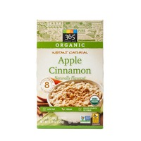 365 Apple Cinnamon Instant Oatmeal