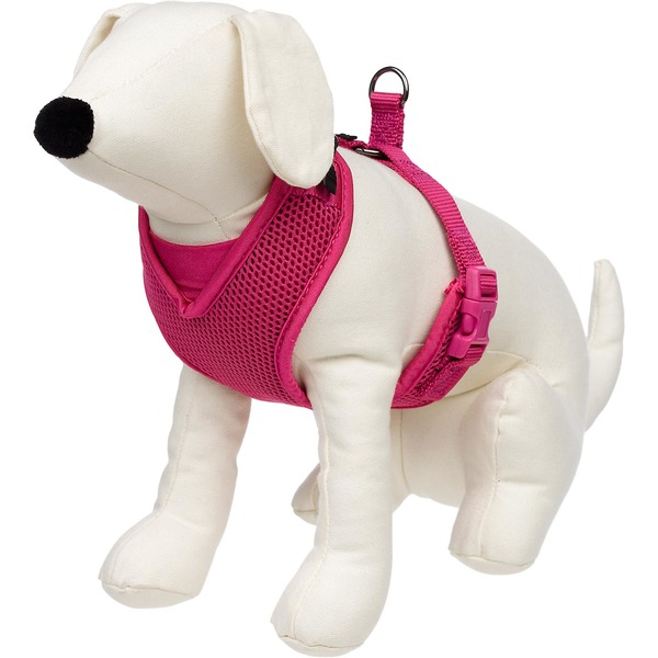 Petco Adjustable Mesh Harness For Dogs In Bright Pink