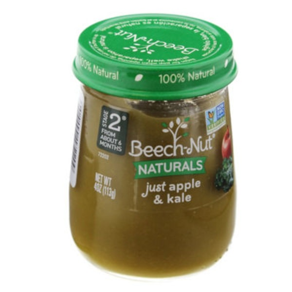 Beech-Nut Naturals Just Apple & Kale Stage 2