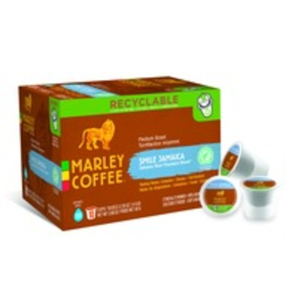 Marley Coffee Coffee, Jamaica Blue Mountain Blend, Capsules, Box