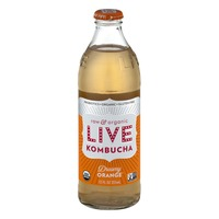 LIVE Kombucha Raw & Organic Dreamy Orange