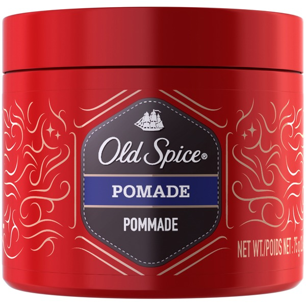 Old Spice Spiffy Old Spice Pomade, 2.64 oz. – Hair Styling for Men Male Hair Care