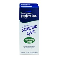 Bausch & Lomb Bausch & Lomb Sensitive Eyes Genuine Sensitive Eyes Rewetting Drops