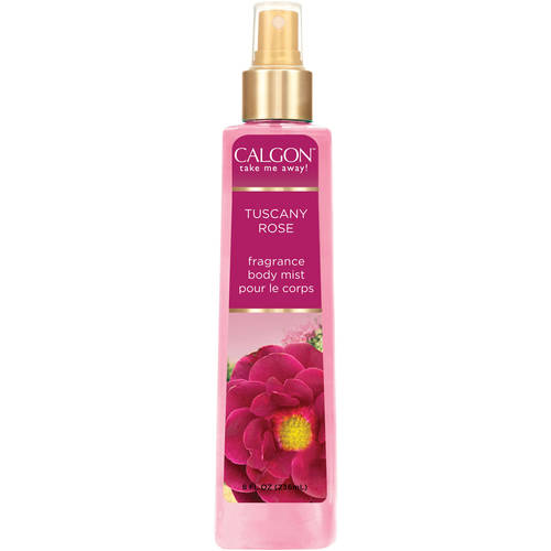 Calgon Tuscany Rose Fragrance Body Mist
