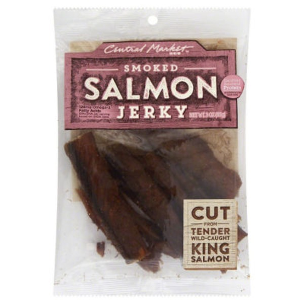 Central Market Smoked Salmon Jerky