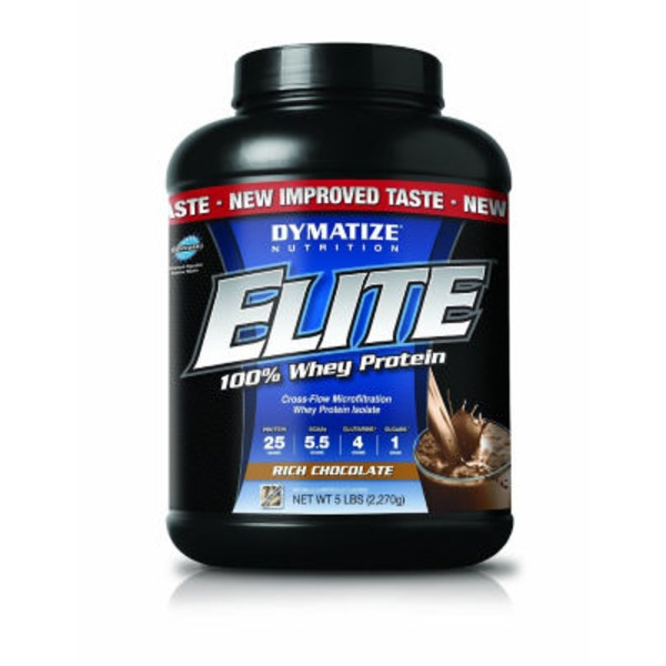 Dymatize Nutrition Elite Rich Chocolate 100% Whey Protein