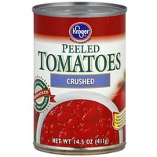 Kroger Peeled Crushed Tomatoes