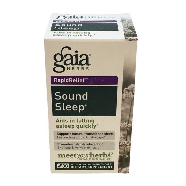 Gaia Herbs Sound Sleep Vegetarian Capsule