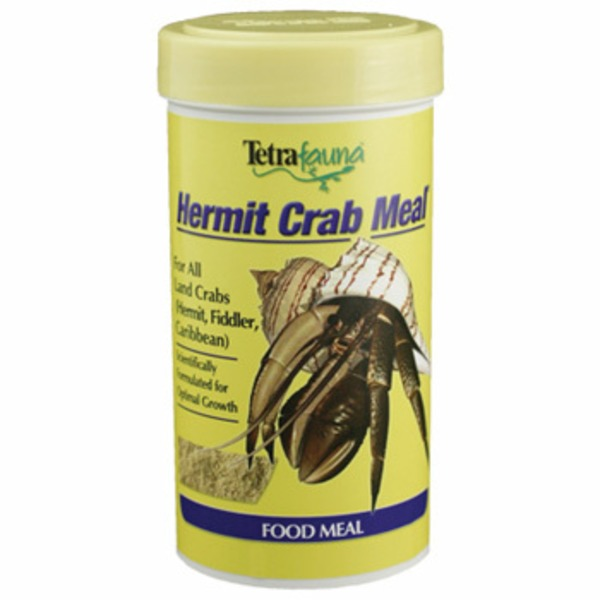 TetraFauna Hermit Crab Meal for all Land Crabs, Hermit,Fiddler Carribean Food Meal