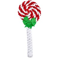 Holiday Dog Lollipop Rope