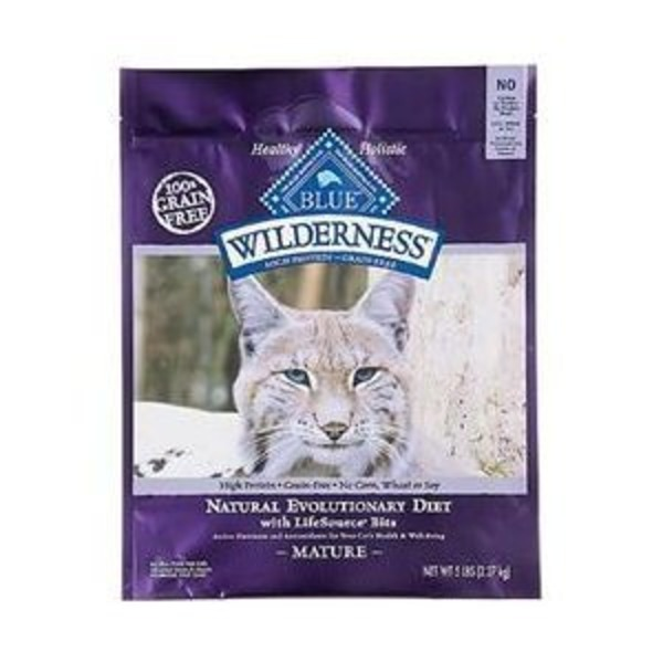 Blue Buffalo Wilderness Grain Free Mature Cat Food