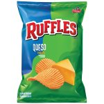 Ruffles Queso Cheese Potato Chips 2.625 Ounce Bag