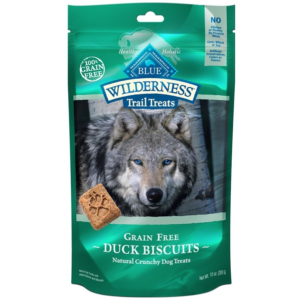 Blue Buffalo Grain-Free Natural Crunchy Duck Recipe Dog Treats