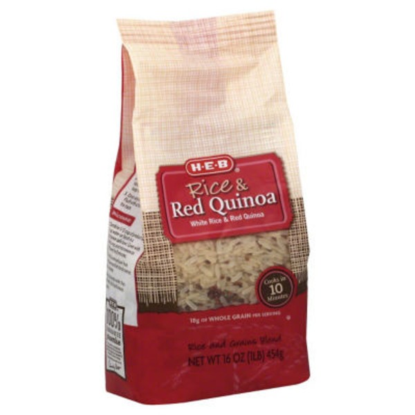 H-E-B Rice &  Red Quinoa