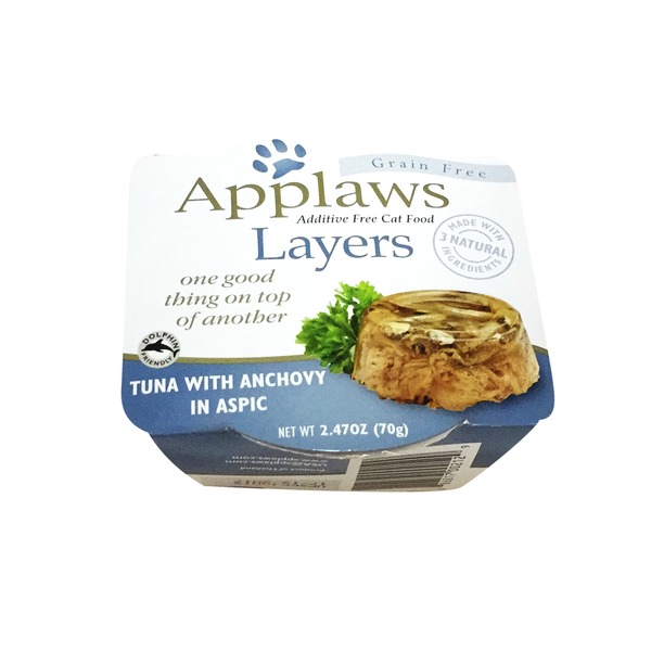 Applaws Layers Tuna With Anchovy in Aspic Cat Food