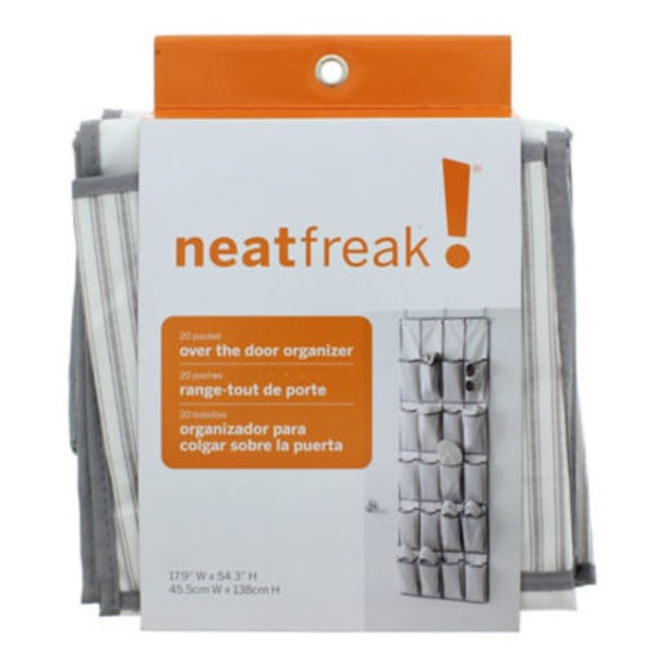 Neatfreak! 20 Pocket Over The Door Organizer