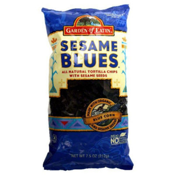 Garden of Eatin' Sesame Blues Corn Tortilla Chips