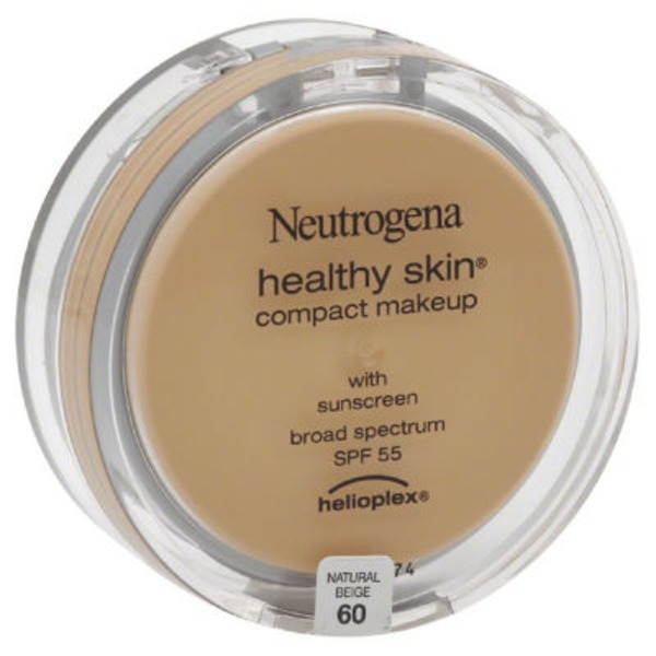 Neutrogena® Compact Makeup with Helioplex SPF 55 Natural Beige Healthy Skin