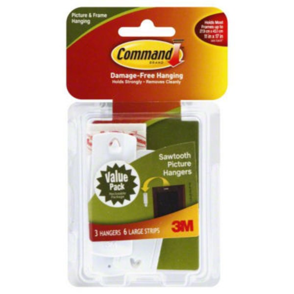 3M Command Sawtooth Picture Hangers
