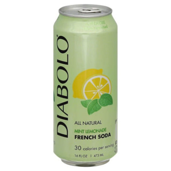 Diabolo French Mint Lemonade Soda