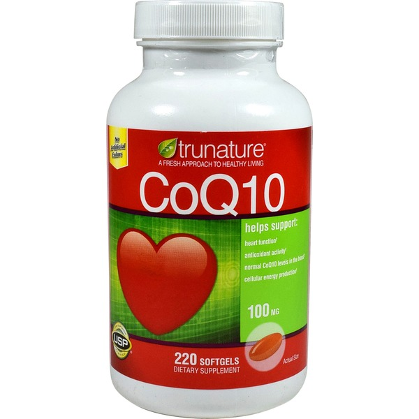 Trunature Coenzyme Q10 100 Mg