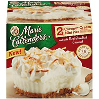 Marie Callender's Coconut Cream Mini Pies