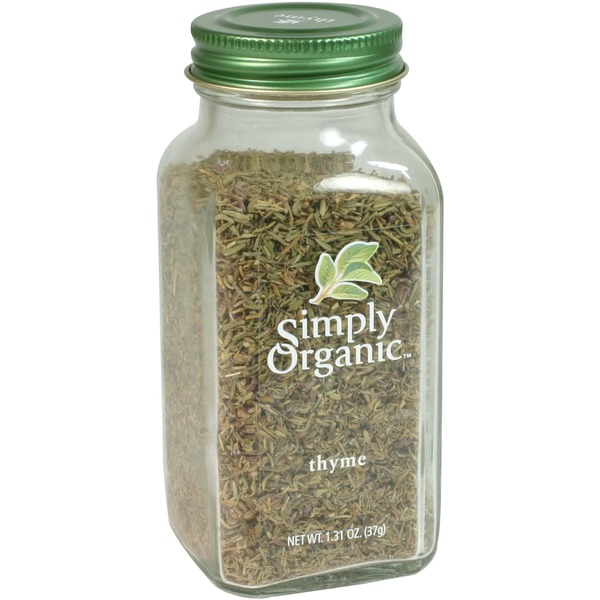 Simply Organic Certified Organic Thyme Leaf