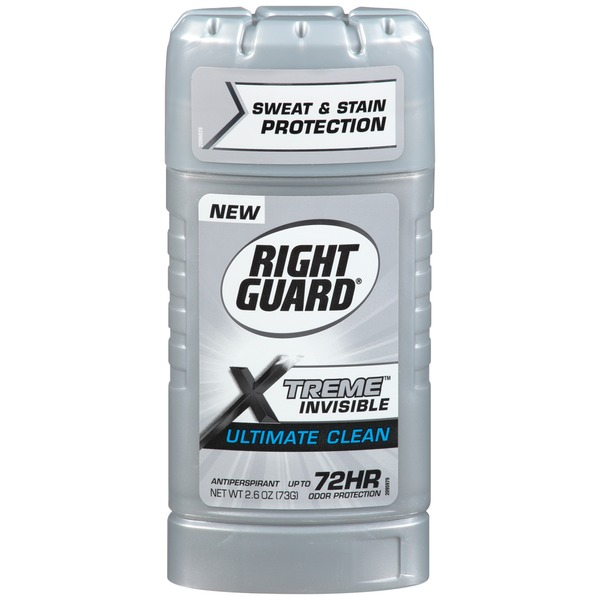 Right Guard Xtreme Invisible Ultimate Clean Antiperspirant