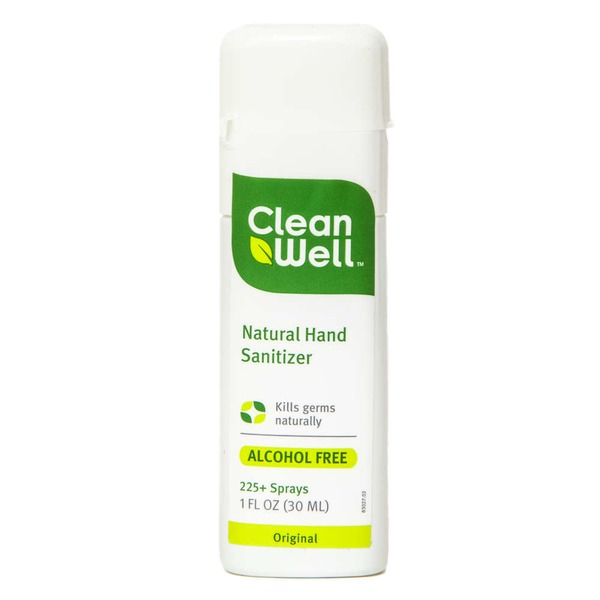 Cleanwell Natural Hand Sanitizer Alcohol Free From Whole Foods In